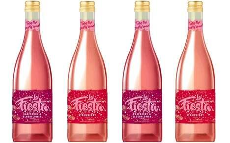 Fruity Semi-Sparkling Wine Drinks