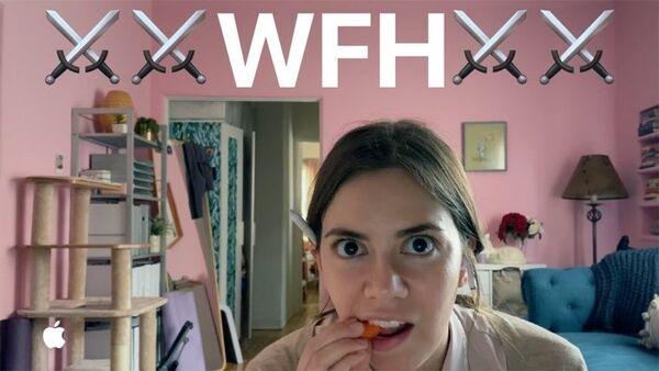 Humorous Tech WFH Ads