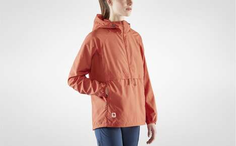 Packable Wind-Resistant Anoraks