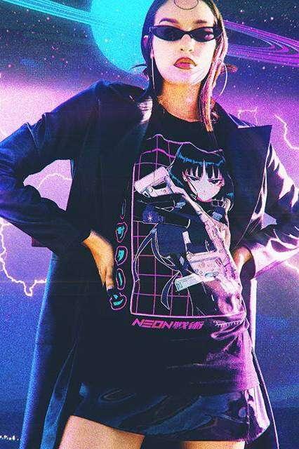 Manga Art-Inspired Fashion