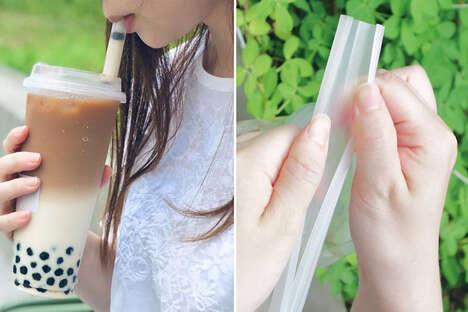 Reusable Bubble Tea Straws