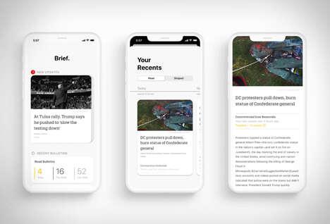 Minimalist Anti-Bias News Apps