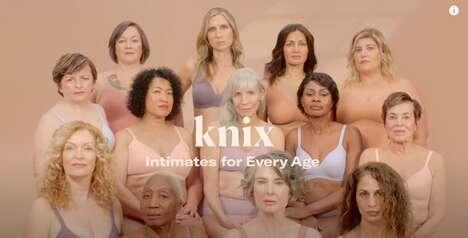 Age Diversity Underwear Ads