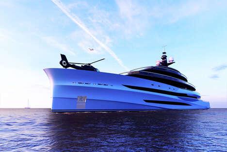 Five-Deck Oceanview Yachts