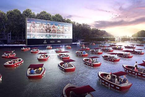 Sail-In Seine River Cinemas
