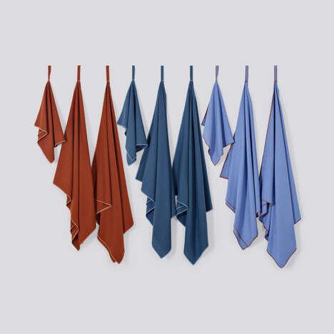 Raw Silk Travel Towels