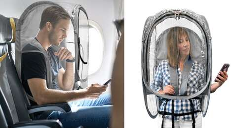 Wearable Protective Barrier Pods