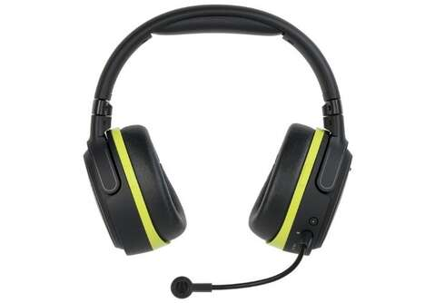 Magnetically Powered Headsets