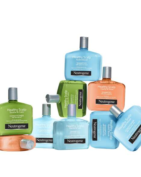 Skincare-Inspired Scalp Collections