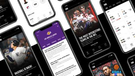 Redesigned Sports Apps