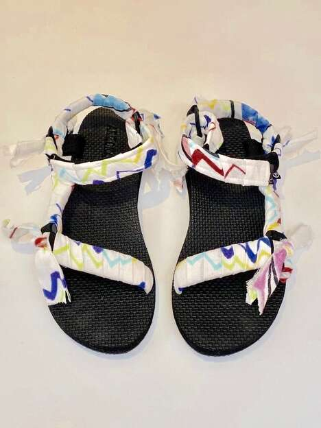 Artful 90s-Inspired Sandals