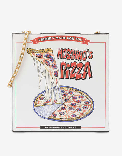 Luxury Pizza-Inspired Handbags