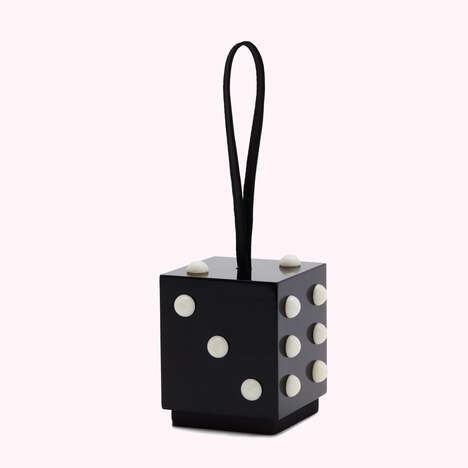 Novelty Dice-Shaped Bags
