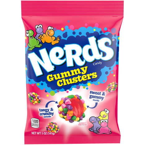 Clustered Gummy Candies