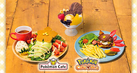 Game Character-Themed Meal Menus