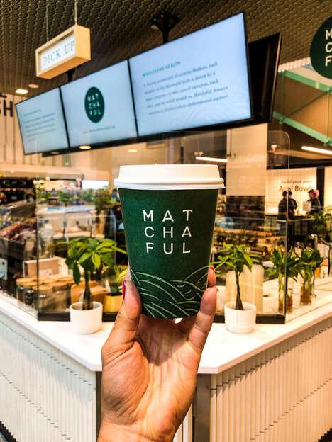 Matcha Wellness Cafes
