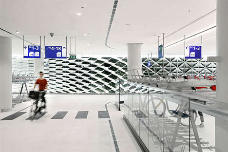 Museum-Inspired Bicycle Garages