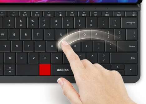 Touch-Sensitive Tablet Keyboards