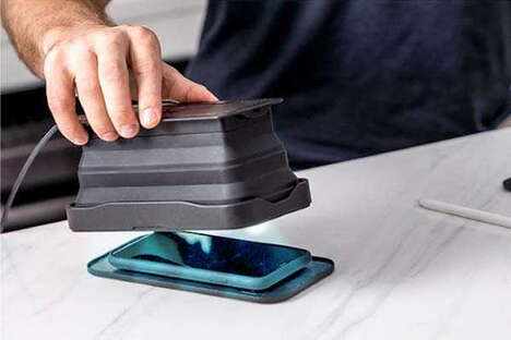 Collapsible Smartphone Sanitizers
