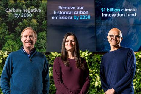 Carbon Negative Tech Companies
