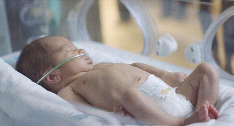 Sleep-Supporting Preemie Diapers