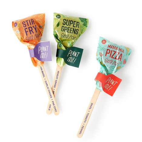 Cuisine-Themed Seed Sticks