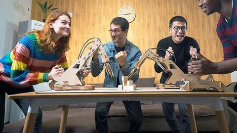 Robotic Wooden Tabletop Games