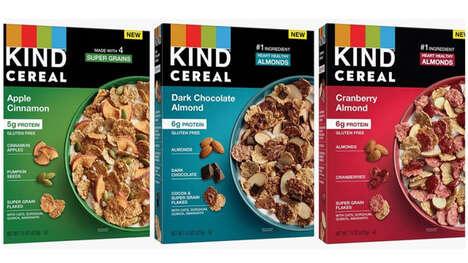Snack Bar Brand Cereals