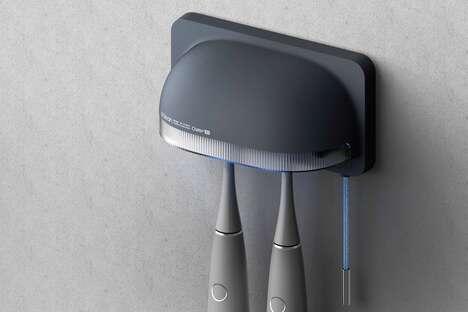 UV-Powered Toothbrush Sanitizers