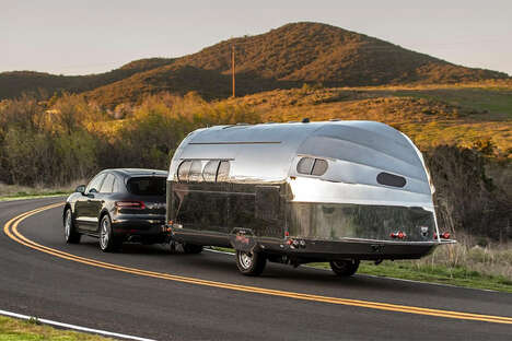 Emissions-Free Glamping Trailers