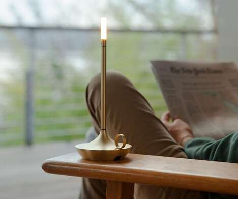 Candle-Inspired LED Lamps
