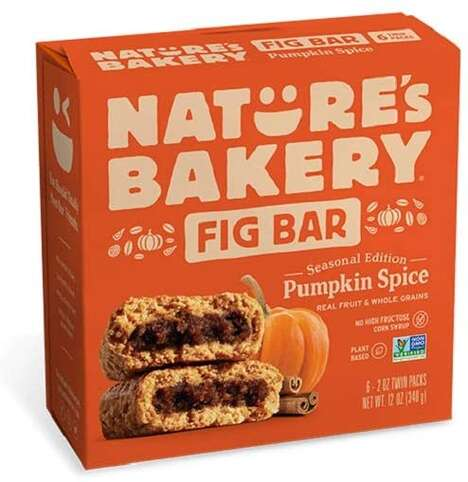 Plant-Based Pumpkin Spice Bars