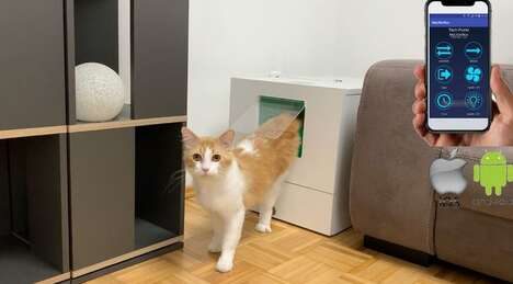 Self-Contained Automated Litter Boxes
