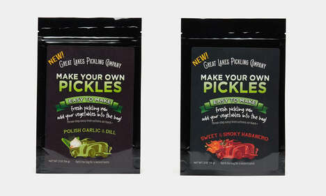 Tasty At-Home Pickling Mixes