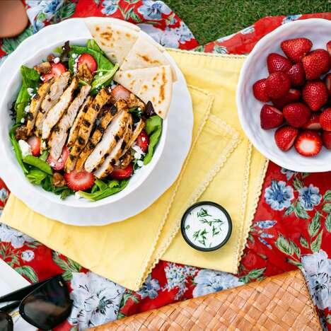 Seasonal Strawberry Salads