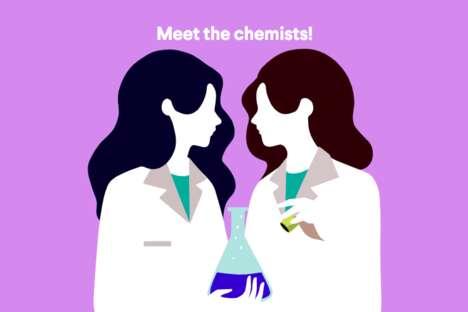 Science-Themed Skincare Platforms