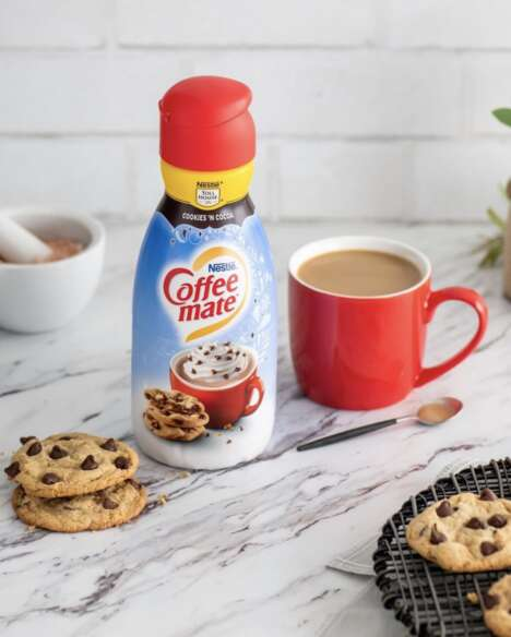 Holiday Cookie Coffee Creamers