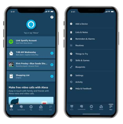 Reworked Smart Assistant Apps