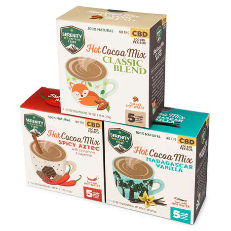 CBD Hot Cocoa Mixes