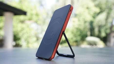 Slim Kickstand Smartphone Chargers