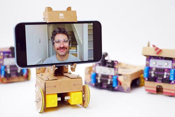 Cardboard Telepresence Robots