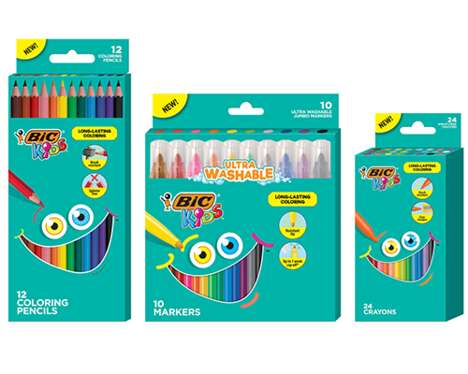 High-Quality Coloring Utensils