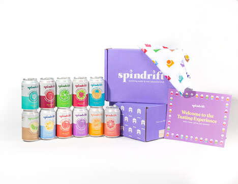 Sparkling Water Tasting Boxes