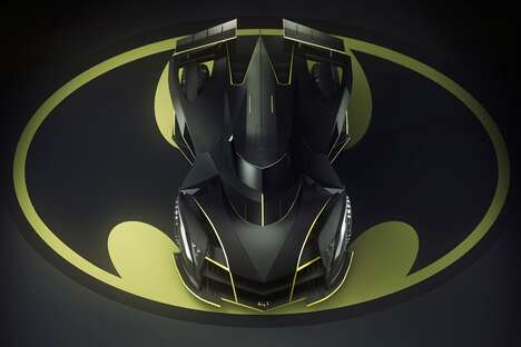 Edgy Superhero Sports Cars