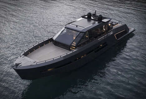 Stealth Carbon Composite Yachts