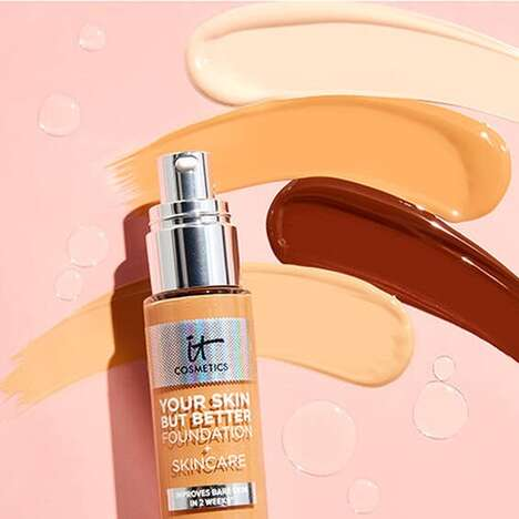 Skin-Improving Foundations