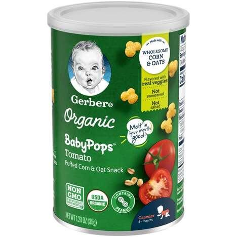 Popcorn-Like Toddler Snacks