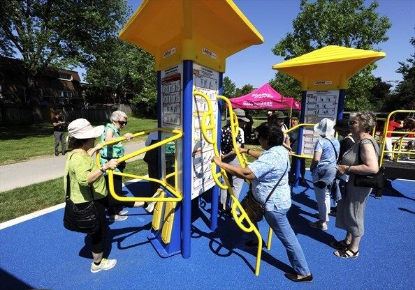 Senior-Focused Exercising Parks