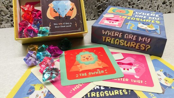 Museum Thief Card Games