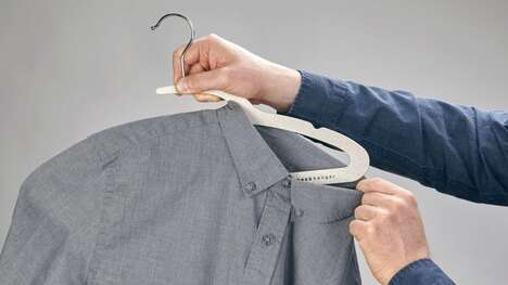 Sustainable Garment-Friendly Hangers